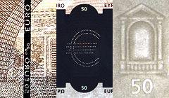 教你如何辨别假钞:欧元(组图)