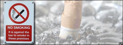 A smoking ban sign