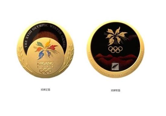 第十八届长野冬季奥运会奖牌图片