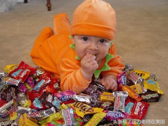 猜猜看美国人万圣节吃掉多少糖?