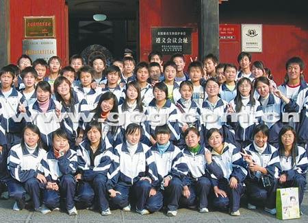 贵州清华中学40名特困生90%上一本线(图)