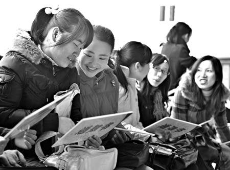 上海多场女性招聘会三八节期间举行(图)