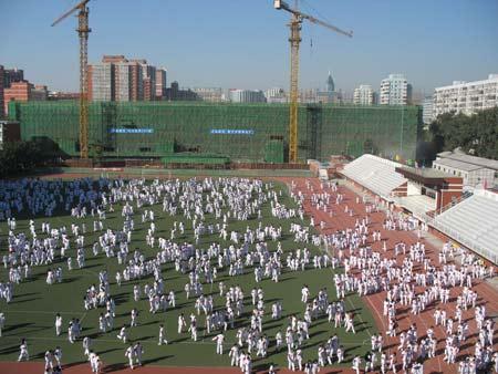 北京最美丽的高中校园(组图)