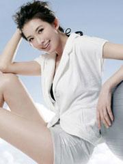 林志玲写真大秀美腿