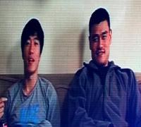 姚明刘翔VCR送跨年祝福