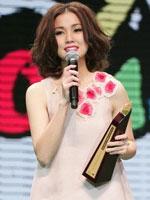叱咤乐坛女歌手-谢安琪(银奖)