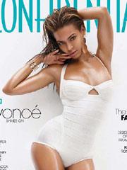 碧昂线三月杂志封面