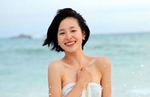 江一燕:在海边施放浪漫情怀(图)
