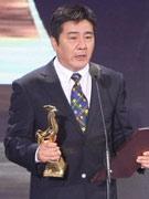 《高考1977》获最佳编剧导演江海洋代领