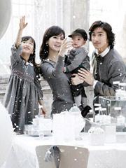 韩国小姐李惠媛全家写真