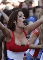 巴拉圭乳神双球夹手机