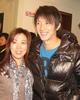韩庚与妈妈