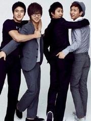 Super Junior拍时尚写真