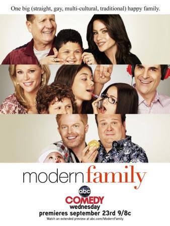 《摩登家庭》展示了高质量群戏