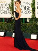 克里基娜-兰西克黑色长裙