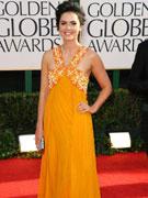 凯蒂-李橙黄礼服