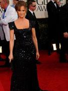 梅丽莎-里奥亮片黑裙优雅