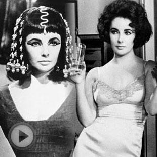 好莱坞传奇女星伊莉莎白泰勒去世
