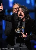 Foo Fighters横扫摇滚类五项大奖