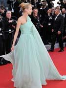 戴安-克鲁格水蓝长裙
