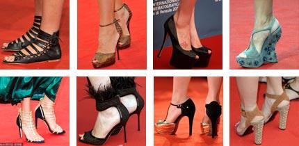 高清组图:威尼斯美鞋 精巧细致vs优雅简洁