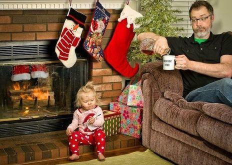 """""""圣诞老人神马都是骗人的"""""""