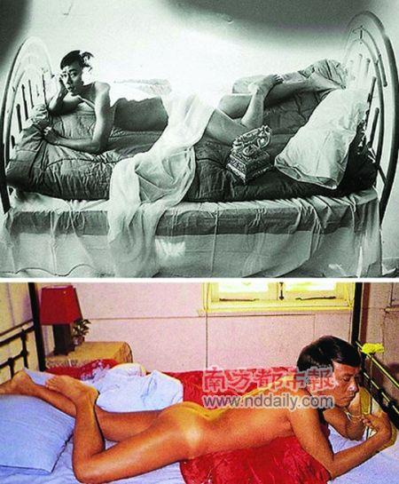 第一个公开裸体写真的香港男艺人,勇气非凡。