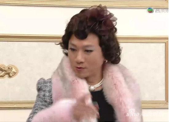 黎耀祥扮女装