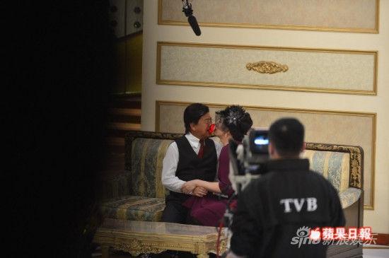 陈豪被强吻