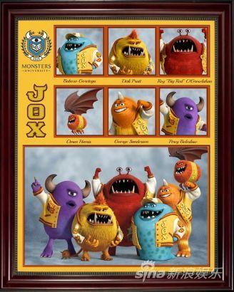 《怪獸大學》角色圖片