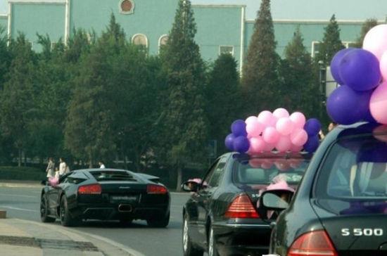 结婚的豪车