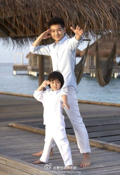 林志颖与儿子小小志
