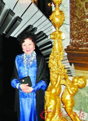 旅法钢琴家周勤龄