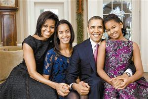 奥巴马一家