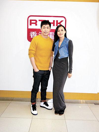 """马浚伟与陈法拉""""兄妹档""""合唱歌曲。"""
