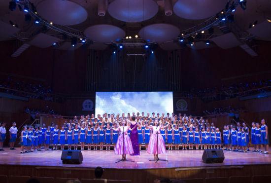 千人童声合唱《天空之城》