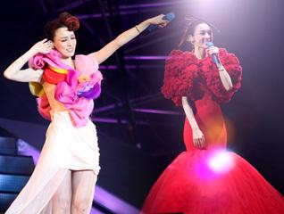 范玮琪北京开唱晒幸福