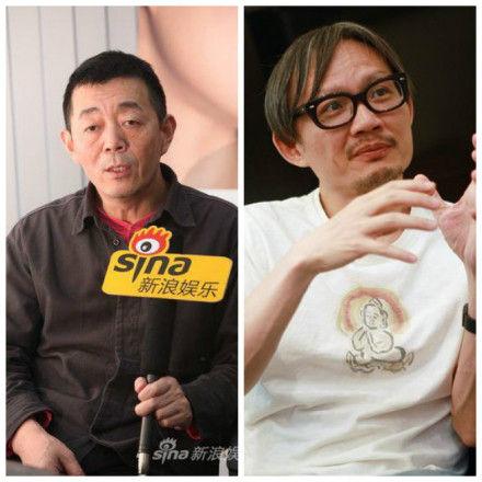 陈国富(右)离职 顾长卫(左)加入