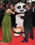 《功夫熊猫》首映星光闪耀大熊猫红毯大牌(图)