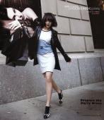 组图:尹恩惠纽约街头性感留影彰显异域时尚风