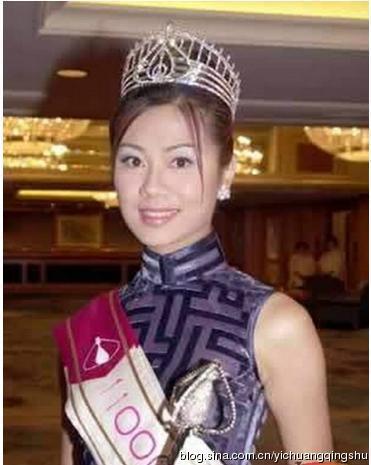 香港历届港姐名单