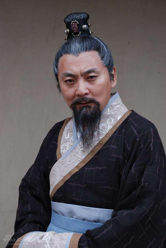 资料图片:《战神韩信》人物--王戎饰萧何
