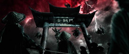 资料图片:电影《风云2》精彩剧照(15)