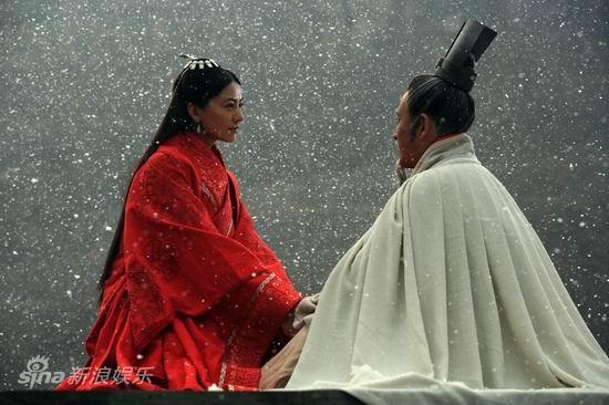 资料图片:电视剧《大秦帝国》精彩剧照(19)
