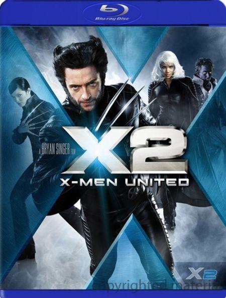 《X战警2》发行蓝光DVD数字拷贝合辑