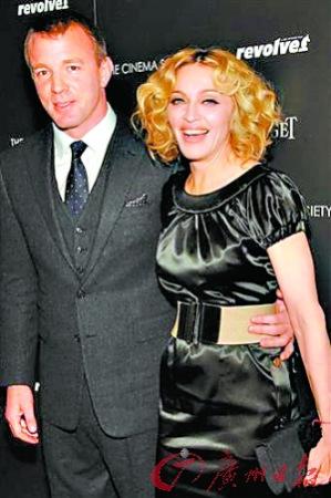 瑪丹娜和前夫蓋·裡奇