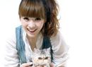 柳岩居家写真与猫共舞