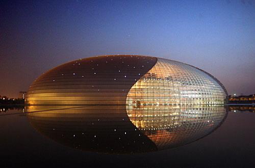 资料图片:国家大剧院精美图片欣赏-璀璨星光