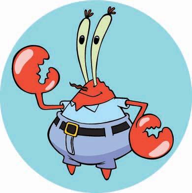 在蟹老板的生命中,唯一比钱更重要一点的就是他的十几岁的女儿peal/珍