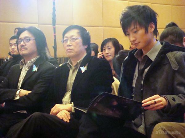 乔任梁欲挑战音乐剧全面发展出演《蝶》(图)